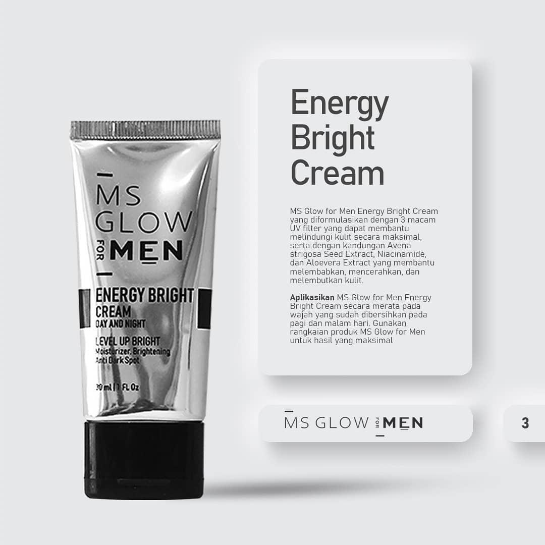 ms glow energy bright cream